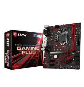 MSI MB Sc LGA1151 B360M GAMING PLUS, Intel B360, VGA, 2xDDR4