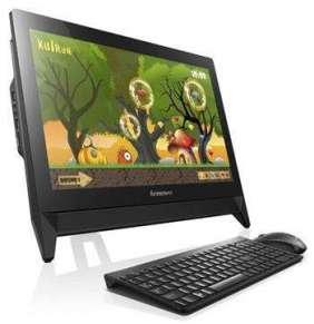 "Lenovo IC C20-00 AIO N3700 2.40GHz 19,5"" HD matny UMA 4GB 500GB DVDRW W10 čierny 2y MI"