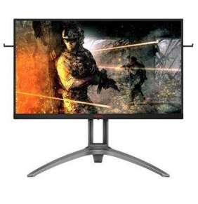 "AOC LCD AGON herní AG273QZ 27"" TN/2560x1440@240Hz/0,5ms/50mil:1/400cd2/m/2xHDMI/2xDP/4x USB 3.0/Repro/Černý"