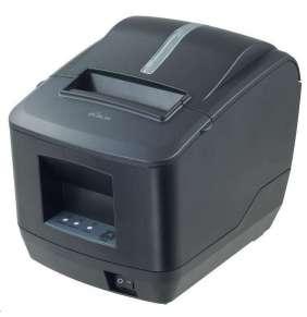 CP-Q1 Pokladní tiskárna s řezačkou, USB+RS232+LAN, černá, tisk v českém jazyce