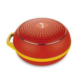 GENIUS repro SP-906BT R2/ 3W/ Bluetooth 4.1/ dobíjecí/ červený
