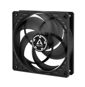 ARCTIC P12 PWM PST ventilátor 120mm / PWM / PST / černoprůhledný