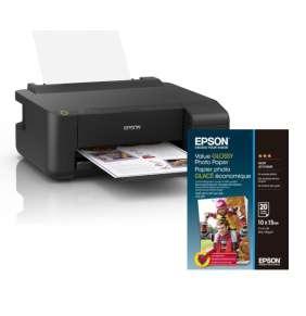 EPSON EcoTank L1110, A4 + 100x Fotopapír