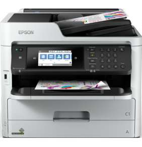 Epson WorkForce Pro WF-C5790DWF, A4, All-in-One, LAN, duplex, ADF, Fax, WiFi, NFC