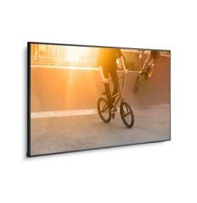 "NEC 75"" velkoformátový display P754Q 24/7, 3840 x 2160, 650 cd, 5 mm protection glass"