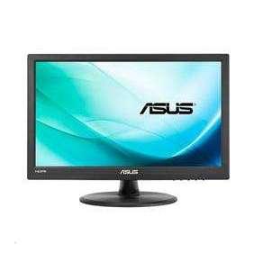 """ASUS VT168H 15,6"""" TN Touch 10-bodový dotykový monitor 1366x768 50mil:1 10ms 200cd HDMI, D-Sub čierny"""