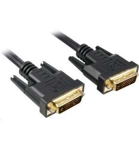 PremiumCord DVI-D propojovací kabel,dual-link,DVI(24+1),MM, 10m