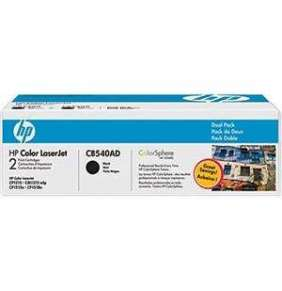 HP 125A Black 2-pack LJ Toner Cart, 2 x 2 200 str, CB540AD
