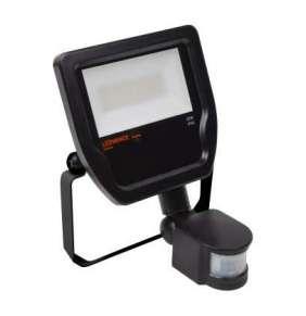 Reflektor LED  20W 4000K  2200lm 100DEG černá senzor IP65