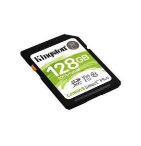 128GB SDXC Kingston Canvas Select Plus U3 V30 CL10 100MB/s