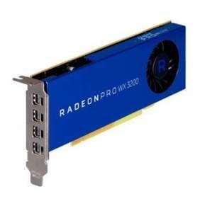 Grafická karta AMD Radeon Pro WX 3200 (4 GB) LP, 4x mDP