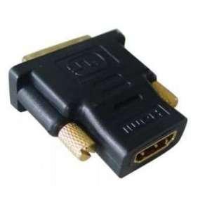 Kabel GEMBIRD red. HDMI na DVI, F/M, zlacené kontakty, černá