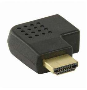 Nedis CVGP34904BK - Adaptér HDMI | HDMI Konektor - HDMI Zásuvka | Úhlová Pravá | Černá barva