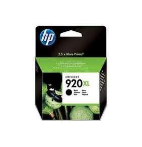 HP 920XL Black Ink Cart, 49 ml, CD975AE