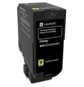 LEXMARK CX725 Yellow High Yield Return Programme Toner Cartridge