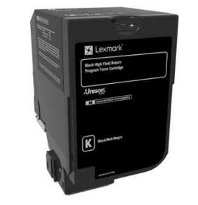 LEXMARK CX725 Black High Yield Return Programme Toner Cartridge