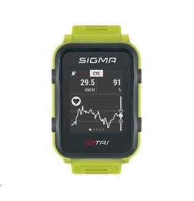 Sigma pulsmetr iD.TRI Set neon mint