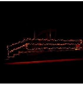 Svetlá -KKL 100/WW:LED súprava žiaroviek, 100 LED, teplá biela