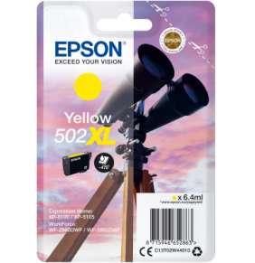 EPSON singlepack,Yellow 502XL,Ink,XL