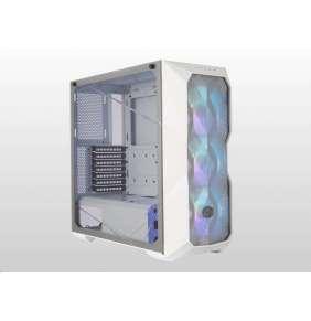 Cooler Master case MasterBox TD500 Mesh White, bez zdroje