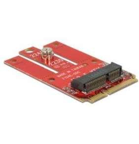 Delock Adaptér Mini PCIe   M.2 slot Key E