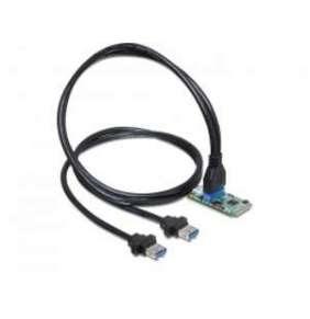 Delock MiniPCIe I/O PCIe full size 1 x 19 Pinový USB 3.0 Pinový konektor