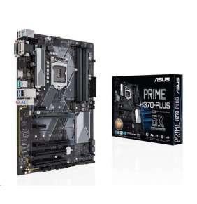ASUS MB Sc LGA1151 PRIME H370-PLUS/CSM (SW + PUR RMA), Intel H370, 4xDDR4, VGA