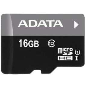 ADATA 16GB MicroSDHC Premier,class 10,with Adapter