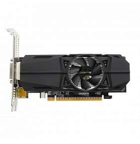 GIGABYTE  GeForce GTX 1050 Ti / PCI-E / 4GB GDDR5 / DVI-D / 2xHDMI / DP / active (Low Profile)