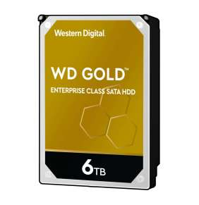 """WD GOLD 6TB / WD6003FRYZ / SATA 6Gb/s / Interní / 3,5"""" / 7200rpm / 256MB"""