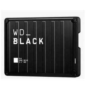 "WD BLACK P10 Game Drive 4TB, BLACK, 2.5"", USB 3.2"