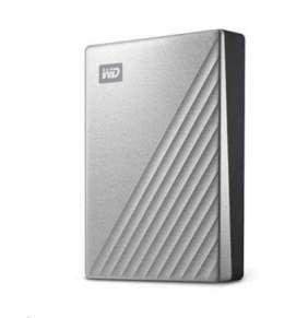 """WD My Passport ULTRA 4TB Ext. 2.5"""" USB3.0 Silver USB-C"""