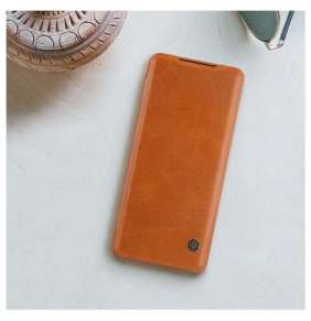 Nillkin Qin Book Pouzdro pro Samsung Galaxy S20 Brown