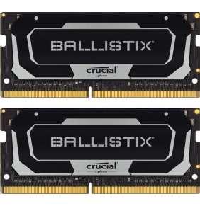 SO-DIMM 16GB DDR4 3200MHz Crucial Ballistix CL16 2x8GB Black