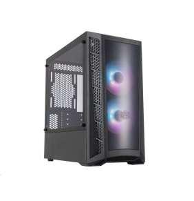 Cooler Master case MasterBox MB320L, aRGB, mATX, Mid Tower, černá, bez zdroje