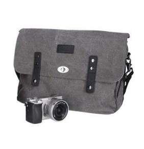 """Rollei Vintage Camera bag/ brašna na zrcadlovku a 13"""" NTB/ Šedá"""