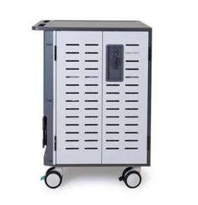 ERGOTRON Zip40 Charging Cart, EU, nabíjecí pojízdná skříň pro 40 zařízení, uzamykatelná