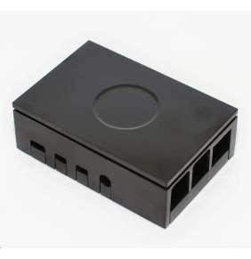 Multicomp krabička pro Raspberry Pi 4B, černá