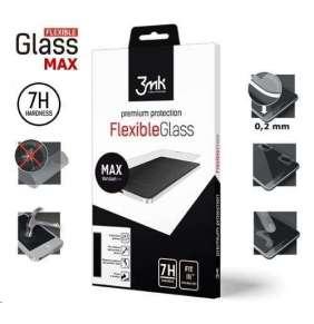 3mk hybridní sklo FlexibleGlass Max pro Xiaomi Redmi Note 8 Pro, černá
