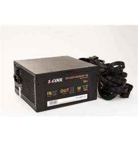 1stCOOL zdroj ATX 750W GOLDEN WORKER 750, APFC, 90+ gold, ploché kabely