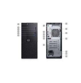 DELL Optiplex 3070 MT/i5-9500/8GB/256GB SSD/Intel UHD 630/DVD RW/Kb/Mouse/260W/W10Pro/3Y Basic Onsite