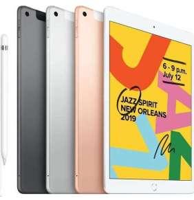 iPad 128GB Wi-Fi + Cellular Silver (2019)