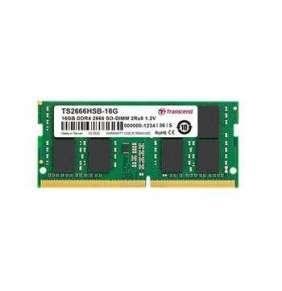 Transcend paměť 16GB SODIMM DDR4 2666 2Rx8 1Gx8 CL19 1.2V
