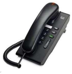 Cisco Unified CP-6901-C-K9 , VoIP telefon, single-line, 10/100, displej, PoE