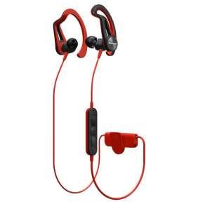 Pioneer SE-E7BT závěsná sportovní sluchátka s Bluetooth červená