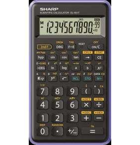 SHARP kalkulačka - EL-501T - fialová (balení blister)