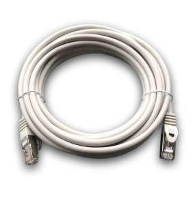 DATACOM Patch cord S/FTP CAT6A 5m šedý