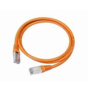 GEMBIRD Kabel UTP Cat5e Patch 0,25m, oranžový