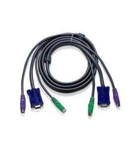 ATEN sdružený prodlužovací kabel 5m, PS/2