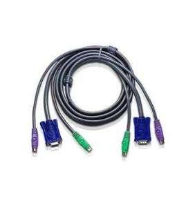 ATEN sdružený kabel pro KVM PS/2 1.8m SLIM pro CS142,CS124,